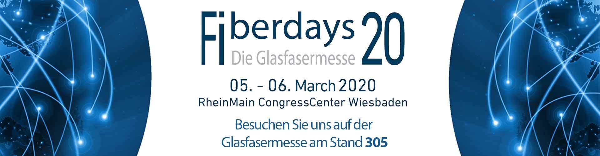 Fiberdays 2020 Stand 305